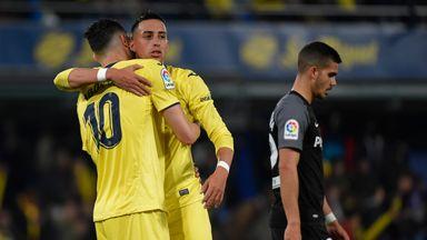 Villarreal claimed a crucial win over Sevilla