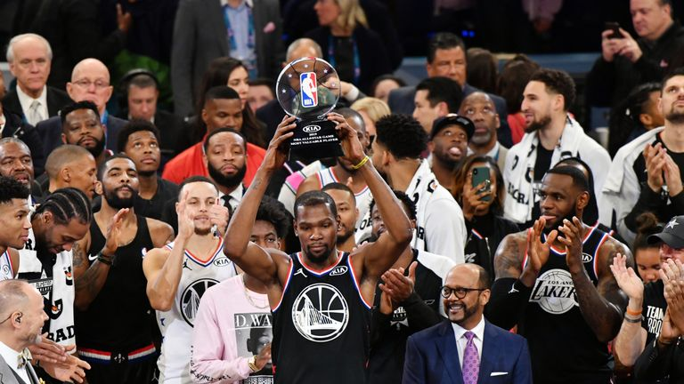 All-Star 2019: Kevin Durant scores 31 points to lead Team LeBron to victory in All-Star Game | NBA News |