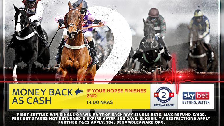 Money Back as Cash if 2nd - 14:0 Naas