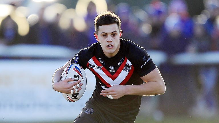 Alex Walker claimed maximum points after his display for London Broncos