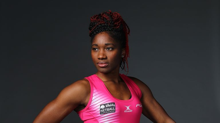 England captain Ama Agbeze is also leading the way for Pulse