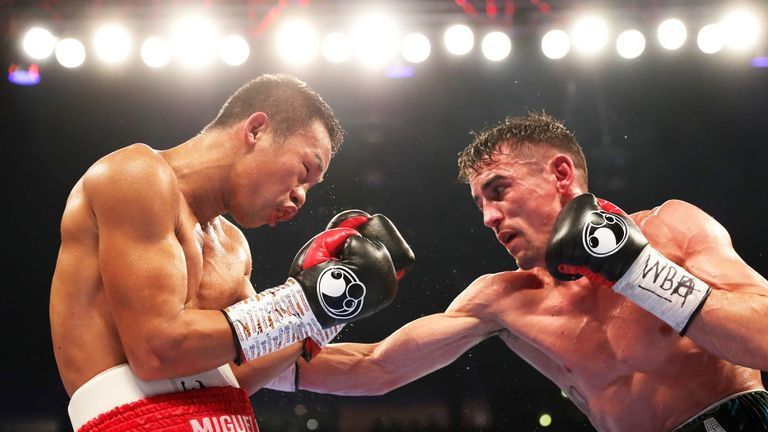 Crolla defeated Daud Yordan to earn his mandatory title fight with Lomachenko