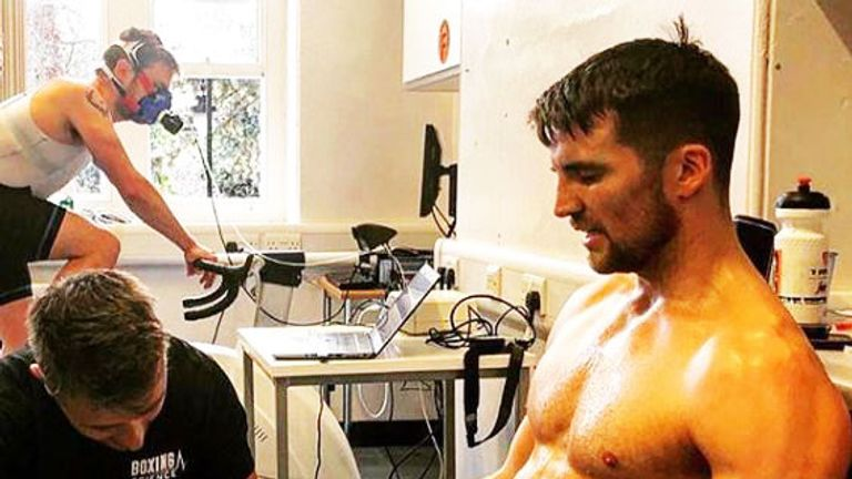 Gill's gym-mate Anthony Fowler has adopted the same approach (Pic courtesy of Anthony Fowler's official Instagram)
