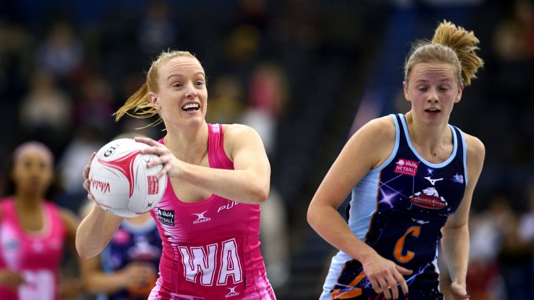Ash Neal (left) has a wealth of Superleague experience and the Aussie is helping to shape London Pulse in their debut season in the competition