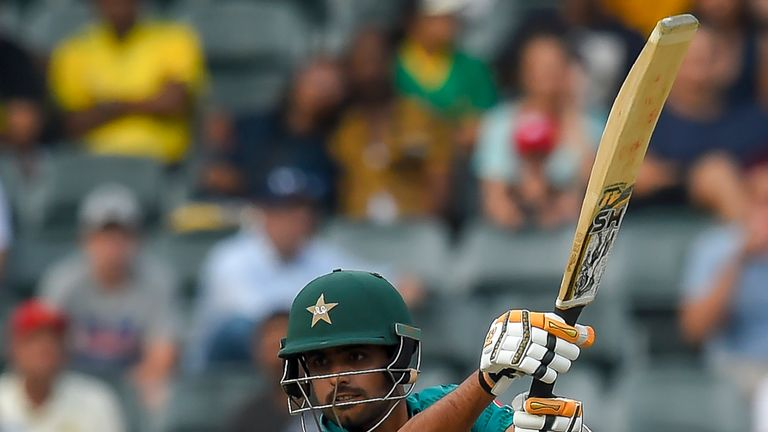 Babar Azam has a T20I best score of 97 for Pakistan