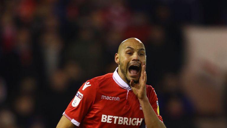Yohan Benalouane is suspended for Nottingham Forest