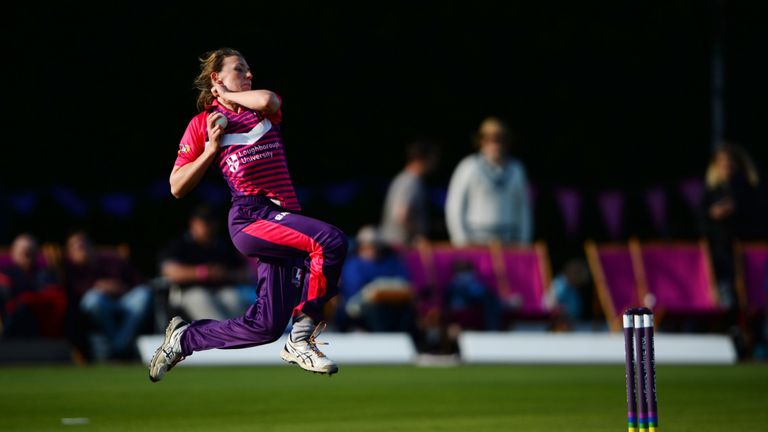 Beth Langston played for Loughborough Lightning in the Kia Super League
