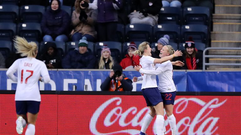 England hold USA to draw in SheBelieves, Japan beat Brazil