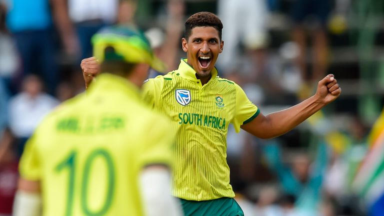 Beuran Hendricks has been called up to South Africa's squad for the rest of the tournament