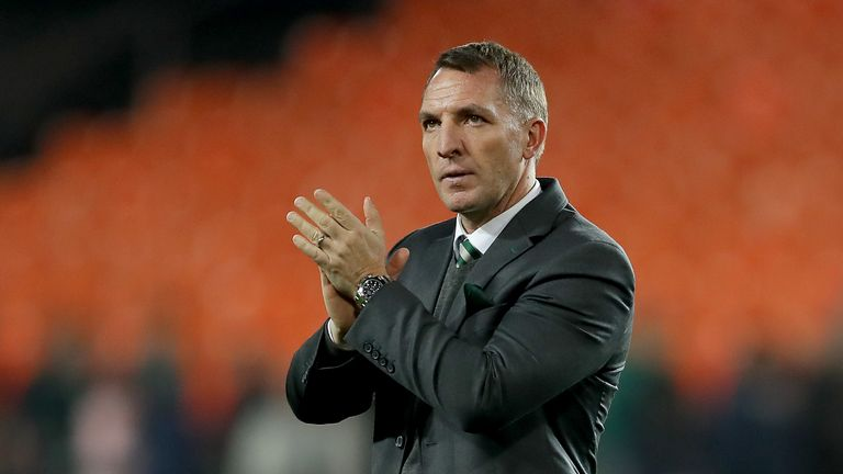 Brendan Rodgers criticises referee after Celtic Europa League exit
