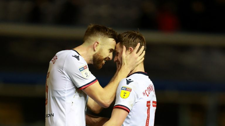 Bolton earned a rare win at Birmingham