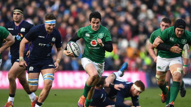 Scotland were restricted to three second-half points by Ireland