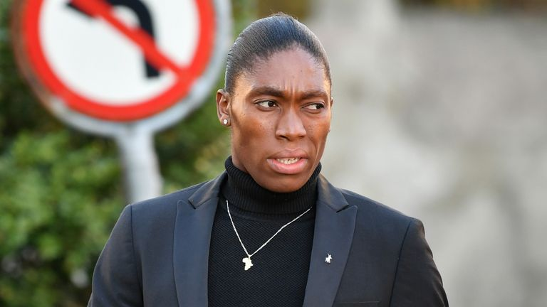 Semenya is challenging a proposed rule by the IAAF aiming to restrict testosterone levels in female runners