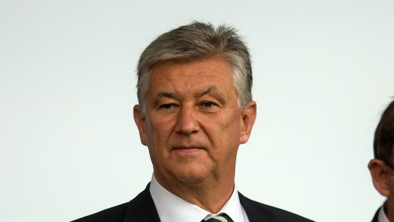 Celtic chief executive Peter Lawwell has also signed the letter