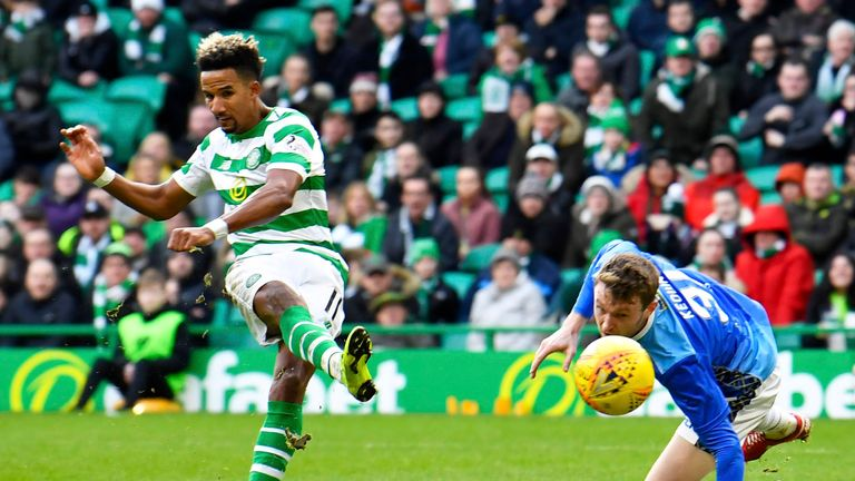 Sinclair's treble was his second hat-trick of the season after another at Aberdeen in December