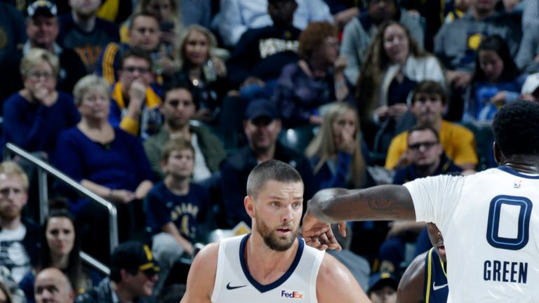 Chandler Parsons returns to action for the Memphis Grizzlies