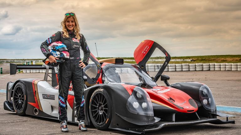 Charlie Martin has helped to raise awareness of LGBT+ inclusion in motorsport through talking about her experiences as a transgender woman