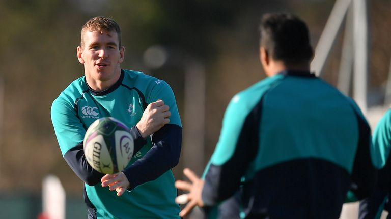 Chris Farrell is one of five players to come into the Ireland side against Scotland
