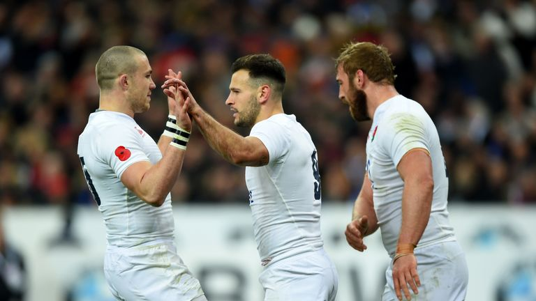 Mike Brown, Danny Care and Chris Robshaw will be looking to be back together on the international stage soon