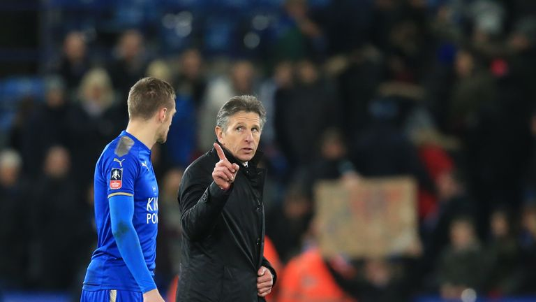 Claude Puel clashed with key players at Leicester