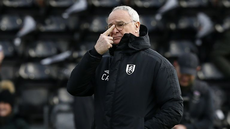 Claudio Ranieri has plenty of work to do at Fulham