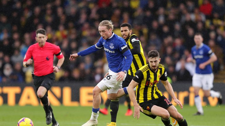 Craig Cathcart did not put a foot wrong as Watford kept a blunt Everton at bay