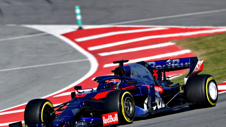 Seventh-fastest Daniil Kvyat continues his preparations for his F1 return