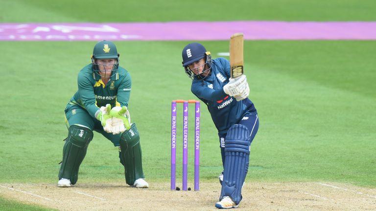 Danni Wyatt's 56 was the best score for England in ODI cricket