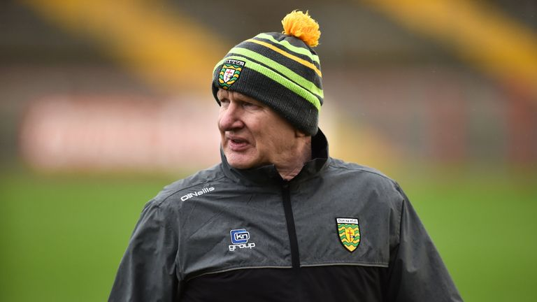 Declan Bonner is in his second year at the helm of Donegal