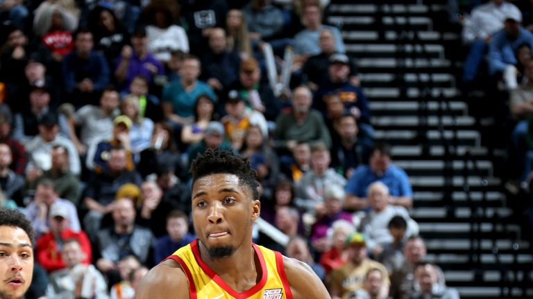 Donovan Mitchell scored 23 points in Utah's win