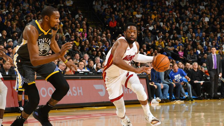 Golden State Warriors resist late Miami Heat rally to claim fourth straight win | NBA News |