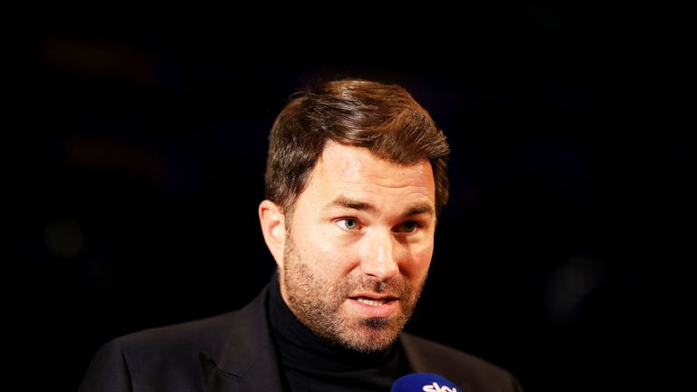 Eddie Hearn has tipped Wardley to shake up the British heavyweight scene