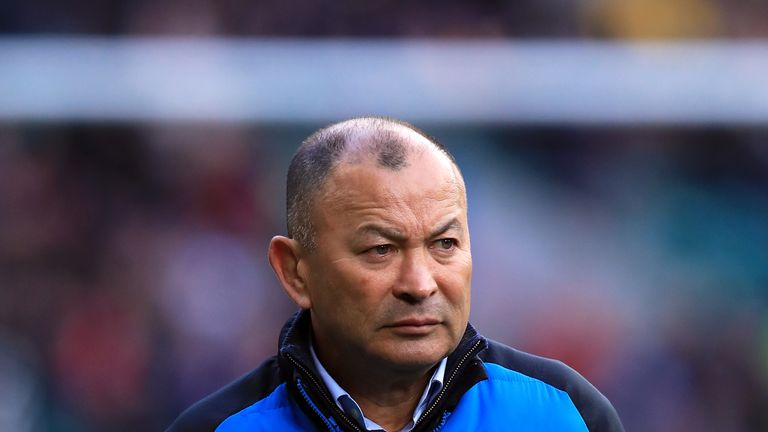 England head coach Eddie Jones has warned his players to expect a fiery reception in Wales