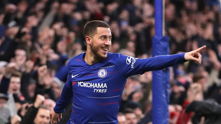 Hazard is yet to commit his long-term future to Chelsea