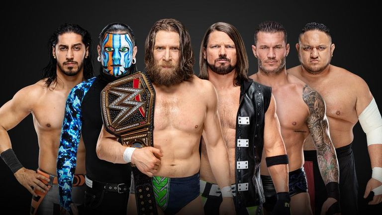 The five Elimination Chamber challengers for Daniel Bryan's WWE title will compete with the man himself in a gauntlet match on tonight's SmackDown