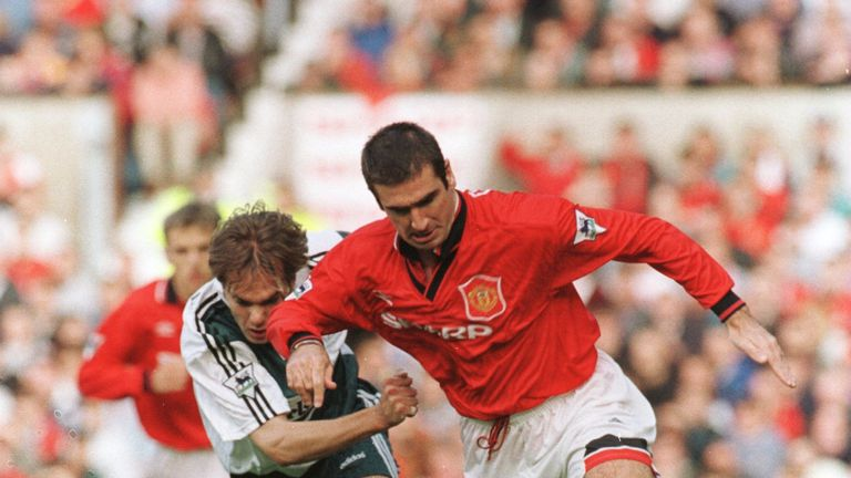 Cantona played like he had a point to prove after his lengthy ban from football