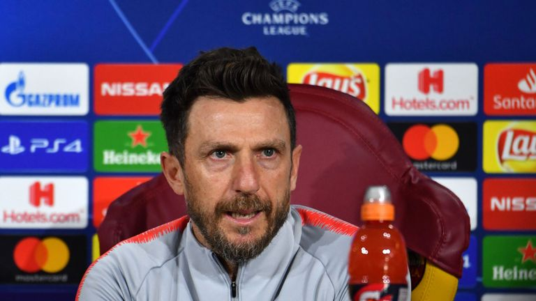 Eusebio Di Francesco left Roma on Thursday