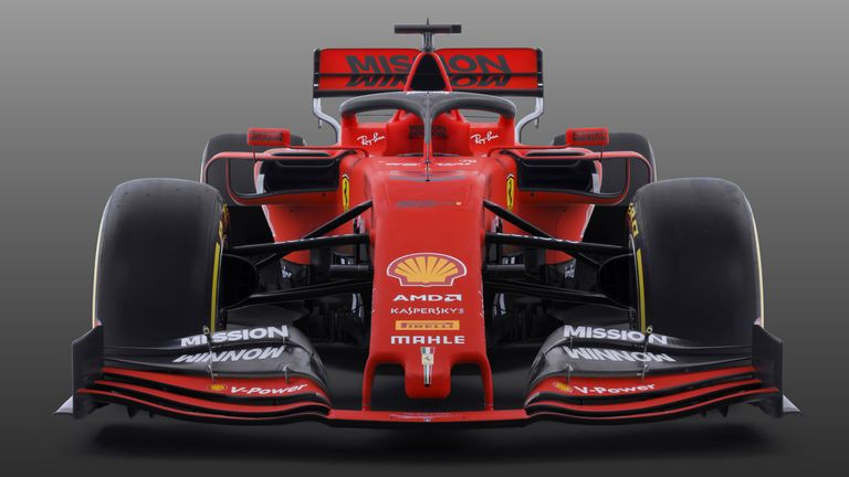 Ferrari in red and black as they launch new 2019 Formula 1