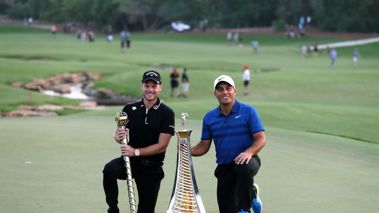 Danny Willett won last year's season finale,  while Francesco Molinari won the Race to Dubai