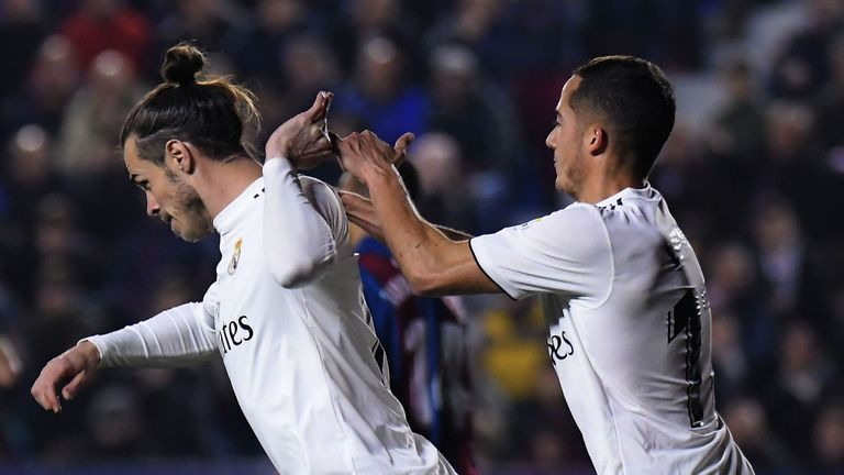 Bale refused to celebrate with Lucas Vasquez when he scored in La Liga last month