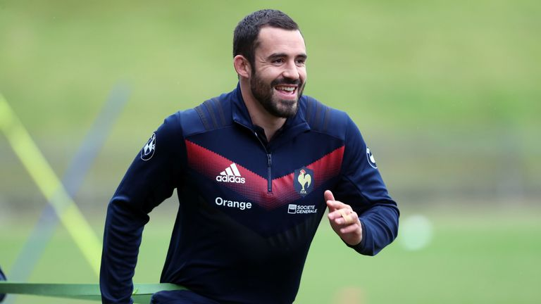 Geoffrey Doumayrou will partner Mathieu Bastareaud in the centre for France against England