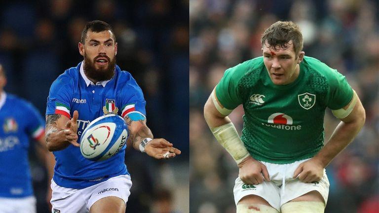 Italy welcome Ireland to the Stadio Olimpico on Sunday