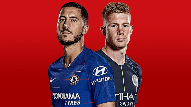 Chelsea and Man City will play in the Carabao Cup final, live on Sky Sports on Sunday