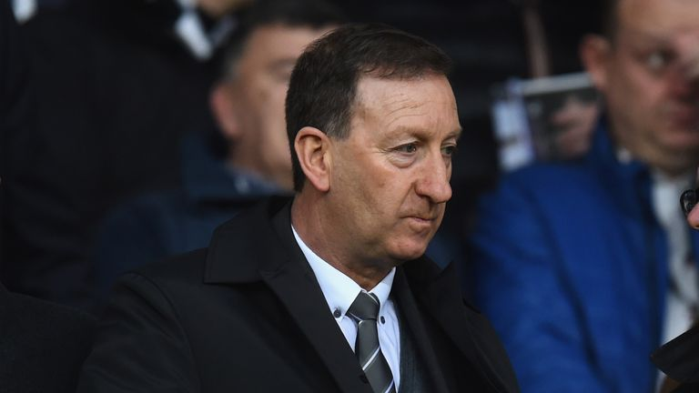 Huw Jenkins resigned from as Swansea chairman on Saturday