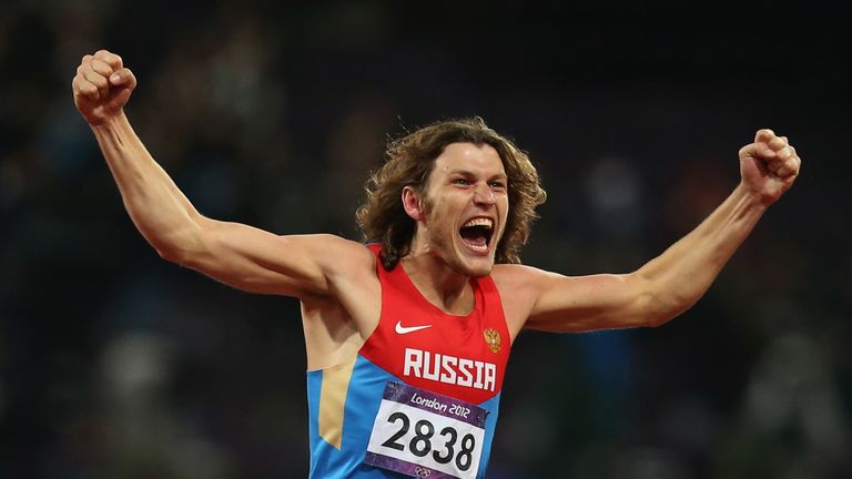 Ivan Ukhov won Olympic high jump gold at London 2012, but has been disqualified