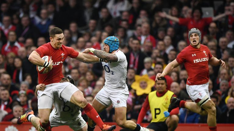 George North and co fronted up to England physically in Cardiff