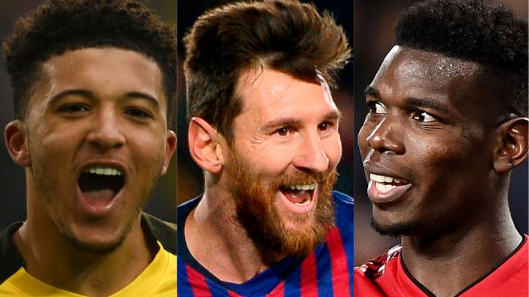 Jadon Sancho, Lionel Messi and Paul Pogba have all come close to joining Arsenal