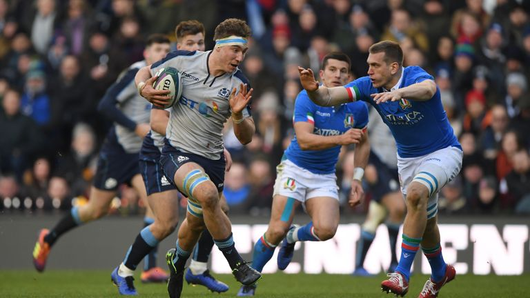 Jamie Ritchie has called on Scotland to match England's physicality against Ireland