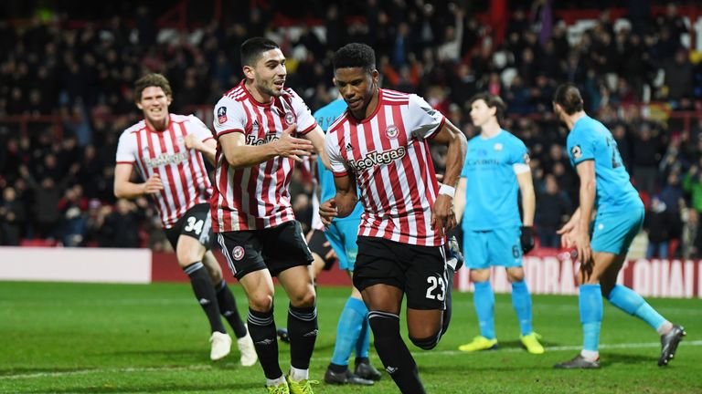 Brentford ensured their progression to the FA Cup fifth round at the expense of Barnet
