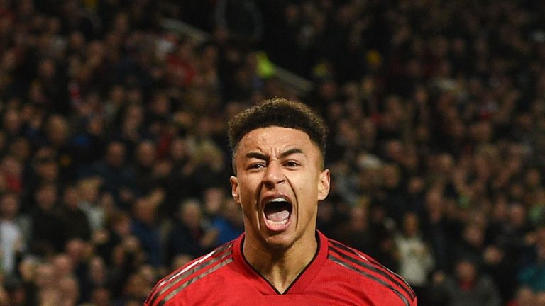 Lingard has scored four goals and provided two assists in 24 Premier League matches this season